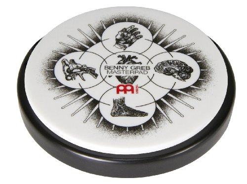 Meinl Cymbals MPP-6-BG Übungspad Benny Greb Masterpad 15,24 cm (6 Zoll)