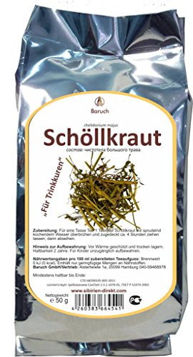 Schöllkraut - (Chelidonium majus) - 50g