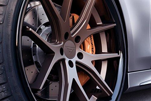 20' Inch Ferrada FR2 Matte Bronze/Gloss Black Lip Concave Wheels Rims | Set of 4 | Fits TESLA MODEL S