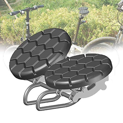 Tiyabdl Sillín Bicicleta Cómodo,Muy Comodo Sillín Noseless Bicicleta Asiento Ergonómico Extra Grande Sillines para Culo Grande Pequeño Trasero