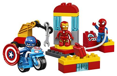 LEGO Duplo - Marvel Super Hero Adventures - Laboratorio de Superhéroes (10921)