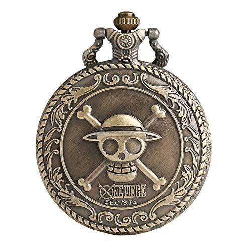 Taschenuhr von One Piece Jolly Rogers der Strohhutbande