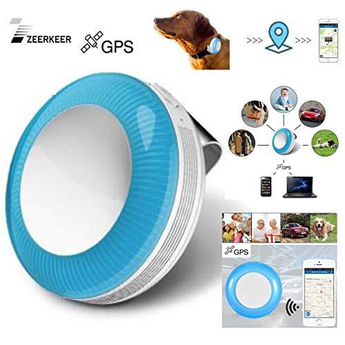 Mini rastreador GPS Azul, posicionamiento preciso en Tiempo Real, vigilancia de Valla...