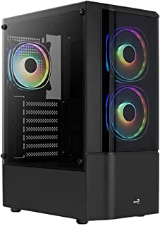 AeroCool Quantum Mid Tower Case with 3 RGB Fans