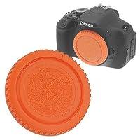 Fotodiox Designer Body Cap for Canon EOS (Orange) [並行輸入品]