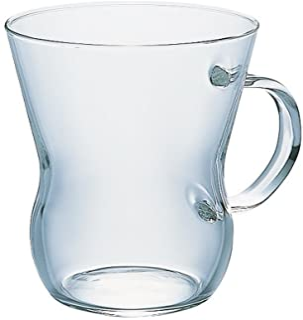 "Hario""Suki"" Oolong Glass Mug, 300ml"
