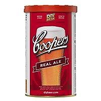 Coopers Real Ale Home Brew Beer Ingrédient Kit Fait 40 pintes Pour Faire Ce Kit Vous Aurez Besoin 1kg De La Brasserie Sugar Ou Bière Kit Embellisseur Nécessite De Base Brassage Equipement