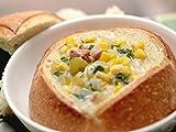 Corn Chowder in Mini Bread Bowls