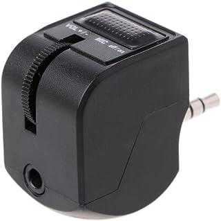 Siwetg Adaptador de auriculares con micrófono de 3,5 mm o Ja, control de volumen para Playation 4 PS4 PS4 mando de auriculares
