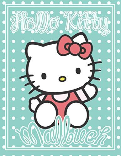 Hello Kitty Malbuch: Sammlung von +50 ausgewählten besten Illustrationen zum Ausmalen | Besondere Malseiten mit Ihren Lieblings - Hello Kitty