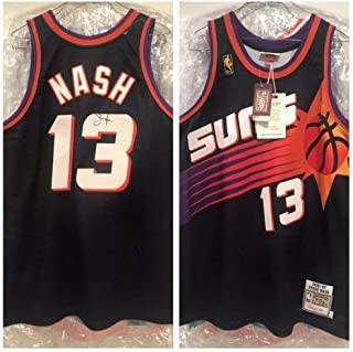 Steve Nash Autographed Signed Suns Authentic Jersey Beckett Loa