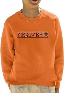 Marvel Avengers Infinity War Yibambe Tribal Text Kid's Sweatshirt