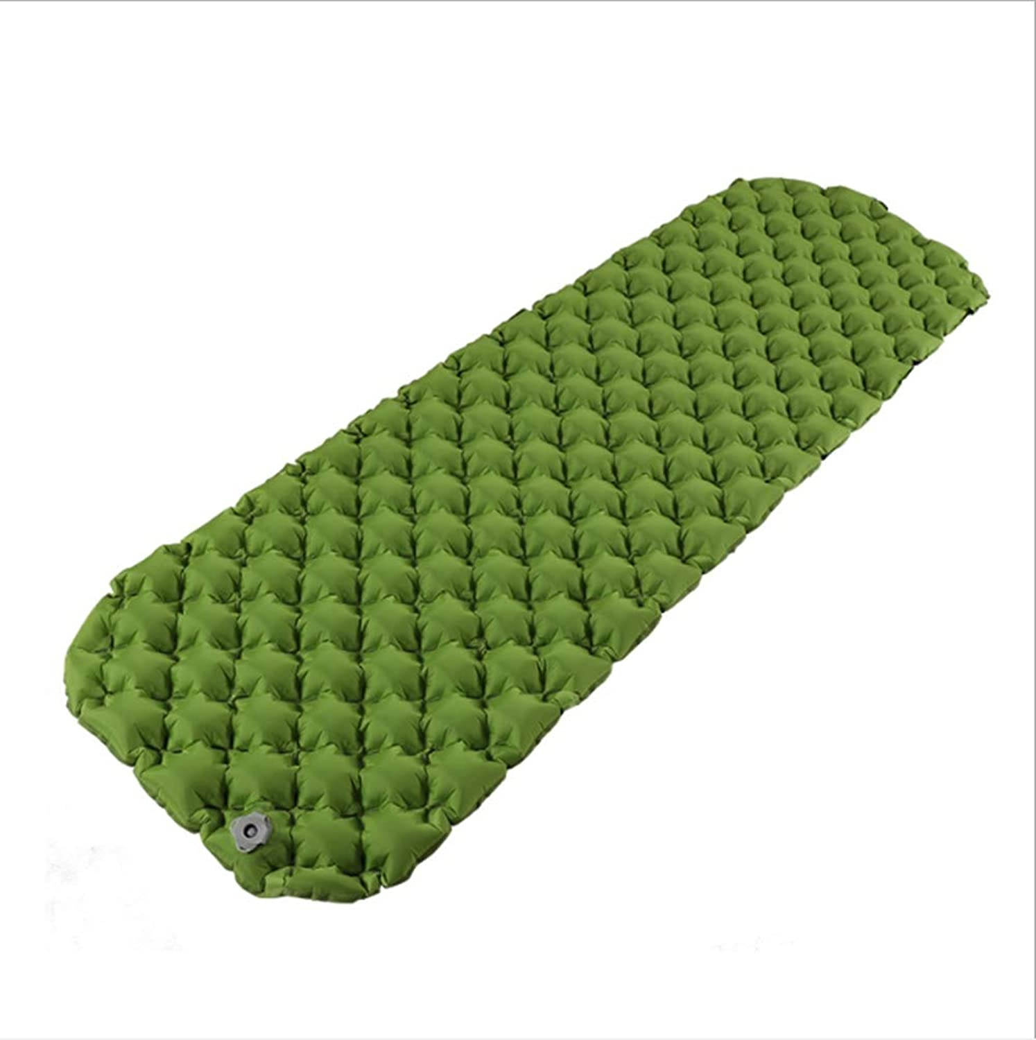 Folding Inflatable Sleeping Mats, Camping Mattresses, Inflatable Rolls - Compact and Moisture-Proof for Hiking, Backpacks, Hammocks, Tent Sleeping Bags Green