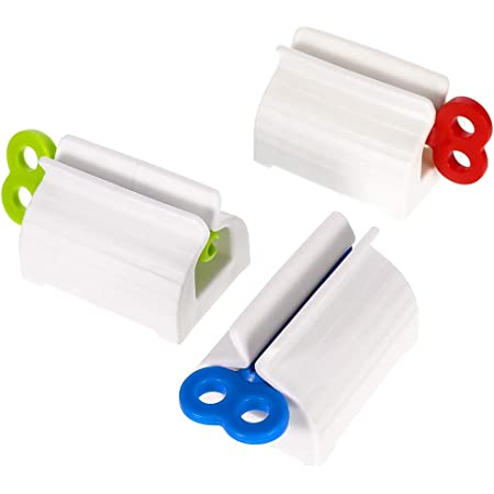 Rolling Tube Toothpaste Squeezer Toothpaste Easy Dispenser Holder Seats V7T4