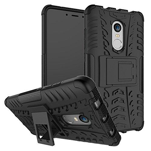 ZOFEEL Funda para Xiaomi Redmi Note 4, 2in1 Armadura Combinación A Prueba de Choques Heavy Duty Escudo Cáscara Dura (Negro)