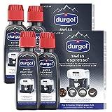 Durgol Swiss Espresso Spezial-Entkalker, 4 Packungen, 8 x 125ml
