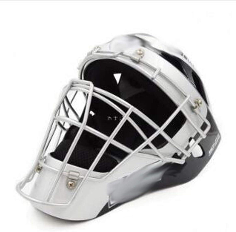 Baseball Predective Gear Adult Baseball Softball Catcher Predective Gear Set Full Face Helmet (color   E)