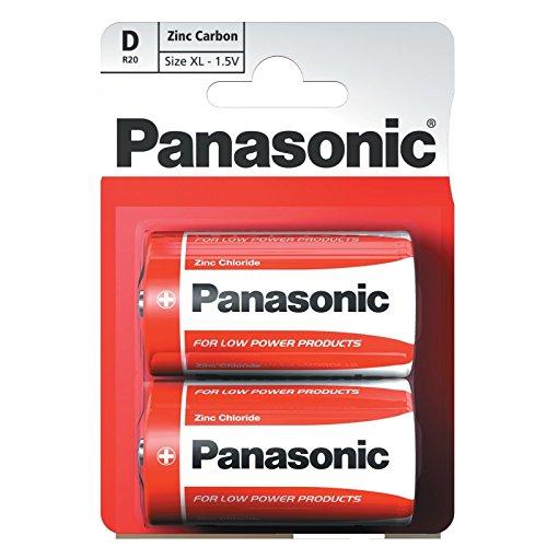 Panasonic 1147 Special Power Batterie Zinc R20R D Mono
