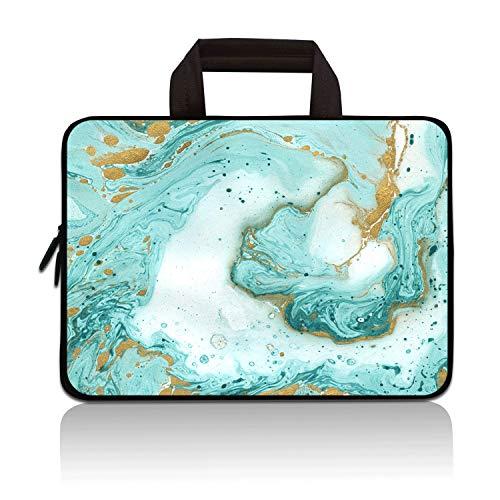 Laptop-Tragetasche für Notebooks / Ultrabooks, Neopren, kompatibel mit Samsung Google Acer HP Dell Asus (Vast Ocean)