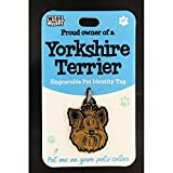 Wags & Whiskers <span class='highlight'>Pet</span> Identity Tag - Yorkshire Terrier 00204090070