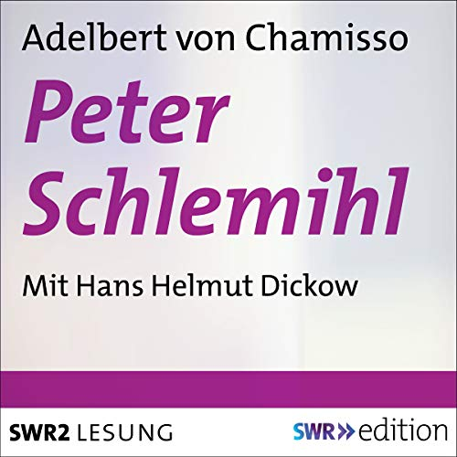 Peter Schlemihl  By  cover art
