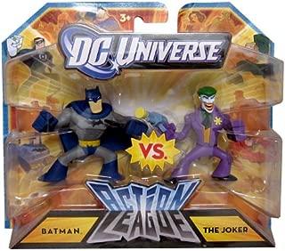 DC Universe Action League Batman vs. The Joker 3-Inch Scale Mini-Figure Set