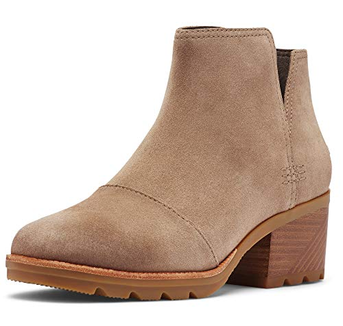 Sorel - Women's Cate Cut Out Bootie Waterproof Ankle Boot with Stacked Heel