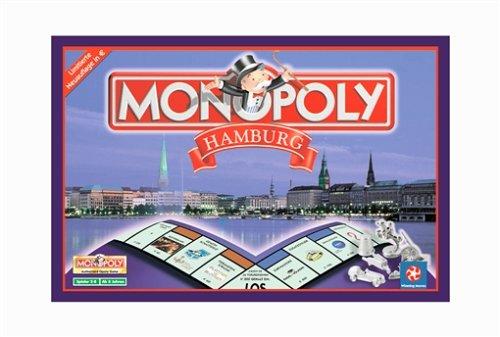 Monopoly Hamburg. Spiel.