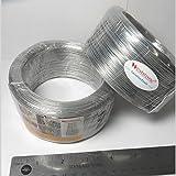 Weststone Clear Round - 300ft Wire Gauge #25 Round(Dia 1.5mm) Plastic Twist Ties Rolls