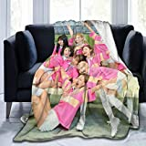 GUYLIGUYQI Kpop Style twice's Blanket Soft Down Blanket Several Sizes to Choose from for All Ages in 80'x60'