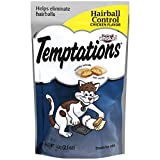 Temptations Hairball Control Treats For Cats, Chicken Flavor, (12) 2.1 Oz. Pouches