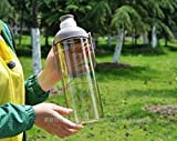Clastik Plastic Water Bottle, 2.8L, Set of 1, Brown