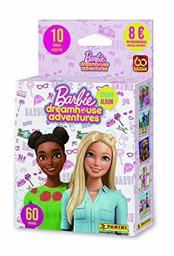 Barbie Dreamhouse Adventures- Ecoblister 10 Sobres, Multicolor, Normal (Panini España, S.A