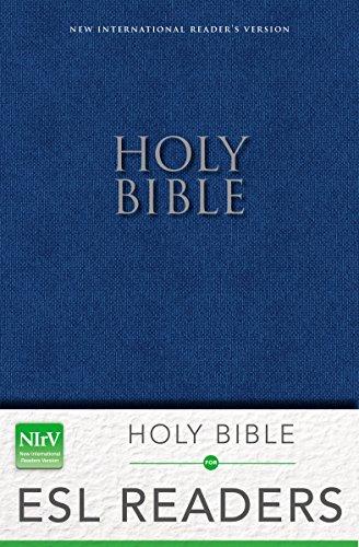 NIrV, Holy Bible for ESL Readers, Paperback, Blue