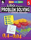 180 Days of Problem Solving for Fifth Grade – Build Math Fluency with this 5th Grade Math Workbook (180 Days of Practice)