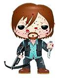 Funko Pop! The Walking Dead: Bloody Version Biker Daryl Figure by Funko [Toy]
