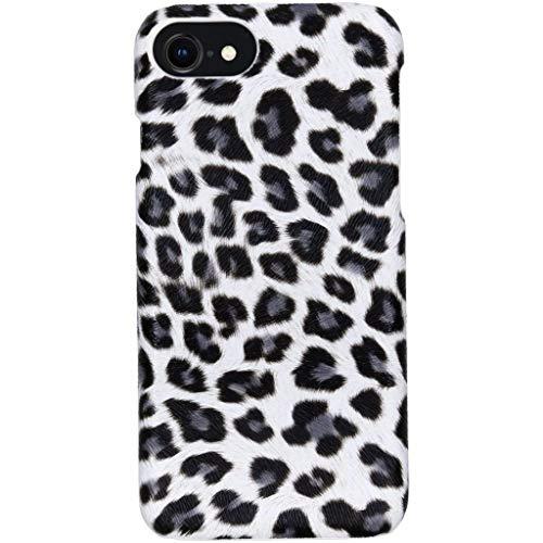 hHülle iPhone 7,iPhone 8,iPhone SE 2020 Hülle – Leopard, Wildkatze, Tiermuster – Hard Hülle Handyhülle
