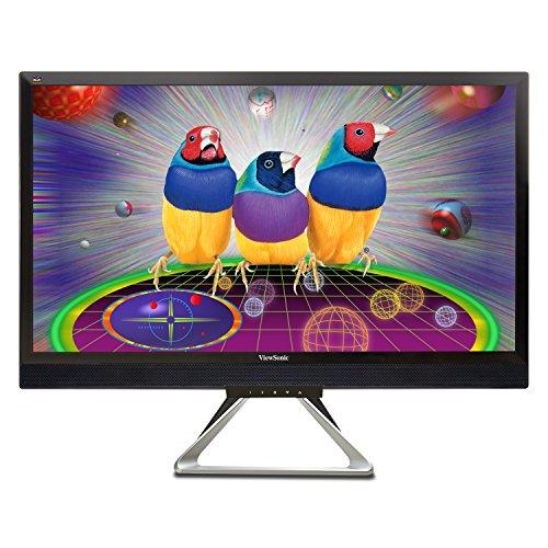 ViewSonic VX2880ML 71,1 cm (28 Zoll) Multimedia LED Monitor (4K, HDMI/MHL, Display Port in/out, Mini Display Port, 5ms Reaktionszeit, Lautsprecher) schwarz