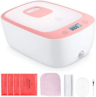 Lavany Paraffin Wax Warmer, 0.5 Hour Fast Wax Meltdown Paraffin Bath, Keep Warm up to 180 mins (Wax)