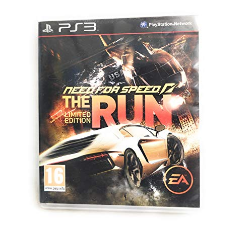 Playstation 3 : Need For Speed The Run Limited Edition VideoGames