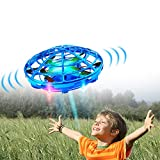 Hand Drones, Hand Controlled Drones, Boy Toys Kids Hand Operated Flying Ball Drone - Hands Free Mini Flying Ball Helicopter with 2...