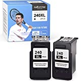 myCartridge SUPRINT Remanufactured Ink Cartridge Replacement for Canon 240 XL 240XL PG-240XL use with PIXMA MG3620 TS5120 MG3520 MX532 MX452 MX472 MX432 MG3122 MG3222 MG2220 MX470 Black, 2-Pack