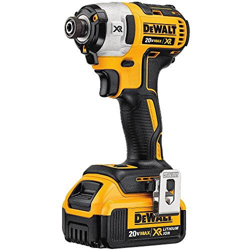DEWALT 20V MAX XR Impact Driver Kit, Brushless, 3-Speed, 1/4-Inch, 4.0-Ah (DCF887M2)