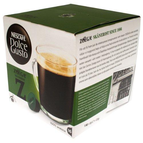 Nescafé Dolce Gusto Zoegas Skanerost, Kaffeekapsel, Kaffee, 16 Kapseln (16 Portionen)