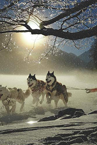 Husky Notizbuch: Tagebuch / Notizbuch für Hundefreunde und Husky Fans