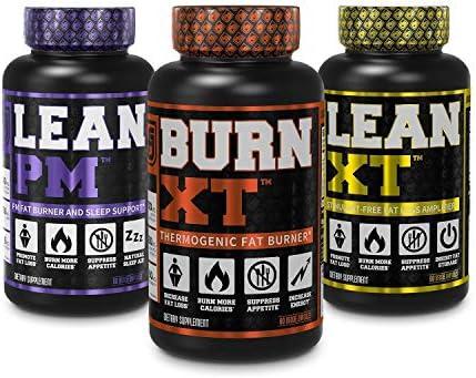Burn XT Thermogenic Fat Burner Lean PM Nighttime Fat Burner Sleep Aid Lean XT Caffeine Free product image
