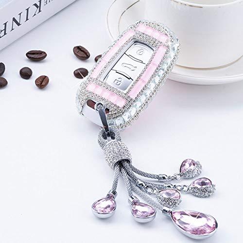 LCDIEB New Diamond Crystal Car Key Cover Case Holder For Geely Atlas Boyue NL3