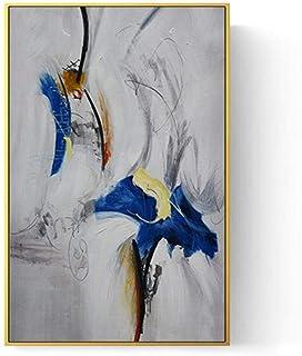 Kunsen Tableau décoratif Décoration Murale Verticale Peinture entrée invité Rectangle Simple Image encadrée_70X100 CM Deco...