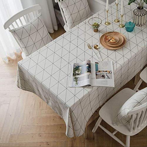 Jack moderne minimalistische stijl wastafel tafelkleed 140x200cm