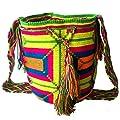 WAYUU Canvas Bag For Women,Multi Color - Crossbody Bags